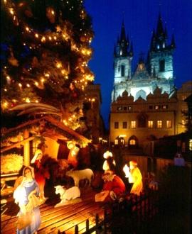 Новогодние экскурсии для детей по Праге и Чехии